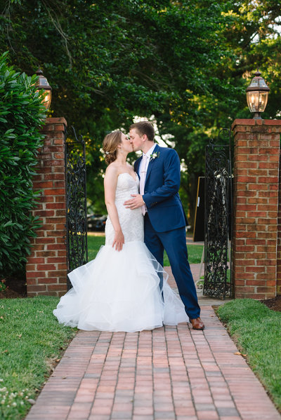 Eastern Shore MD wedding couple at Brittland Estates