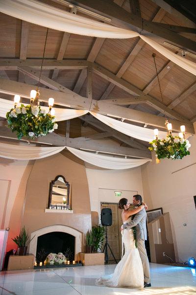 first dance at Marbella Country Club wedding in Orange County, CA San Juan Capistrano wedding photographer