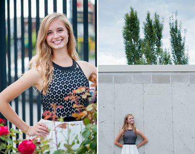 Fargo senior portraits by Kris Kandel photographer
