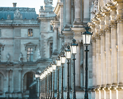 Fine Art photo of the Louvre museu,m in Paris by Karissa Van Tassel