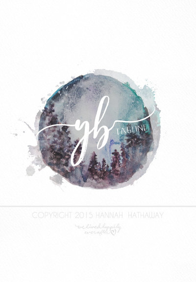 Vintage_Logo_-_Photography_Logo_-_Wreath_Logo_-_Pre_Made_Feminine_Watercolor_Logo_-_Painted_Logo_-_P-468493602-_2