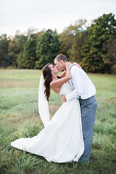 Wedding Portrait by WNY Wedding Photographer HS Neckers Photography