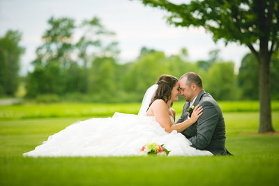 Luke & Hilary's Outdoor Wisconsin Wedding Photos by Amenson Studio-0141