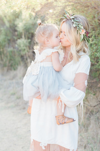 Mom and Daughter Motherhood Photo | Santa Cruz Family Photography