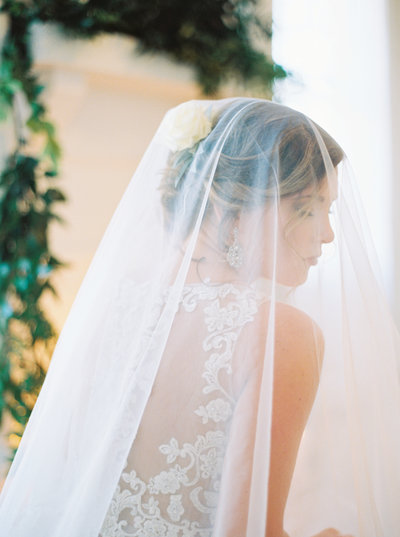 Bridals Greenery Veil North Carolina