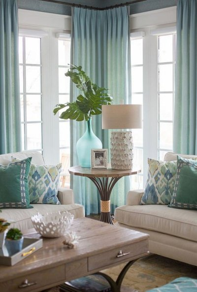 living room staging plant accent table interior design lamp table pillows decor accesorizing staging