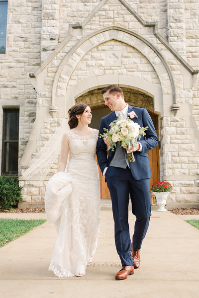 Drury Stone Chapel Wedding