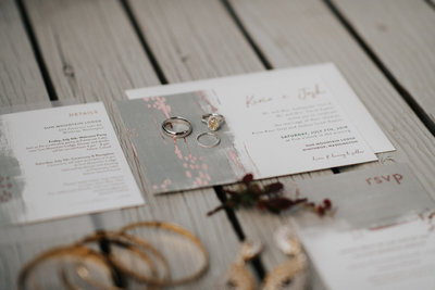 Wedding Invitation Suite Sun Mountain Lodge Wedding Winthrop