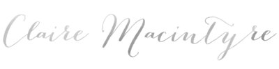 Claire Macintyre South of France wedding photographer Logo