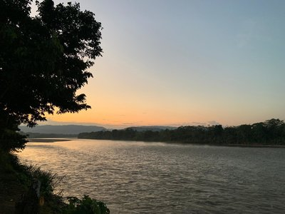 Sunset Napo River