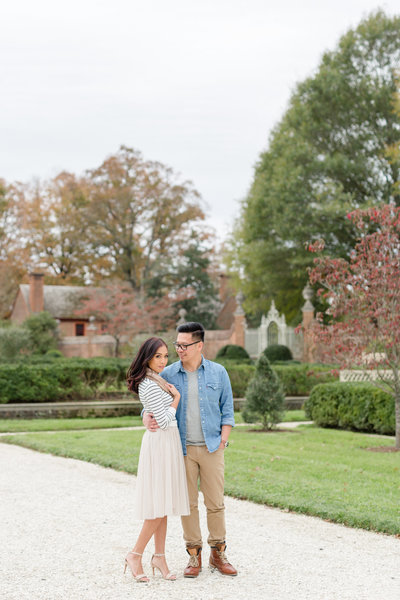 colonial williamsburg engagement session-2