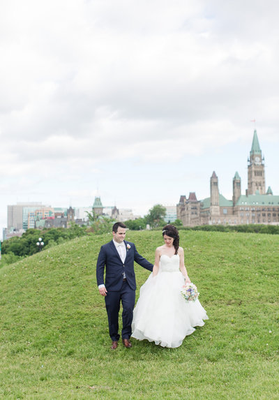 Parliament Hill Ottawa Couple