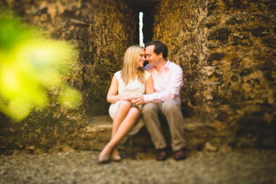 a pre wedding photograph taken in oxford university campus