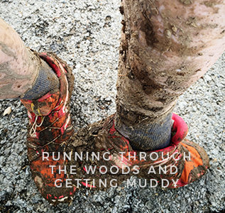 kansas city trail running shoes muddy