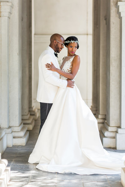Lazaro Bridal - Piedmont Room Wedding Atlanta - Mecca Gamble Photography