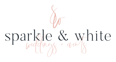 Sparkle & White Weddings - Logo