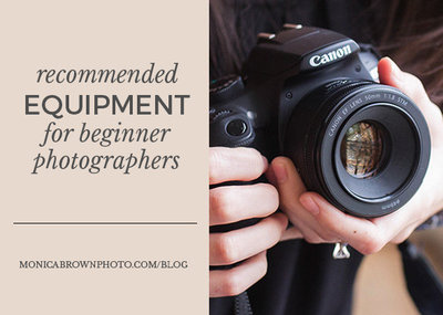 Equipment for Beginner Photographers