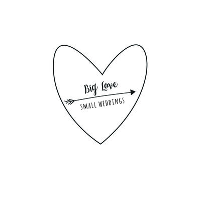 Big Love Small Weddings Logo