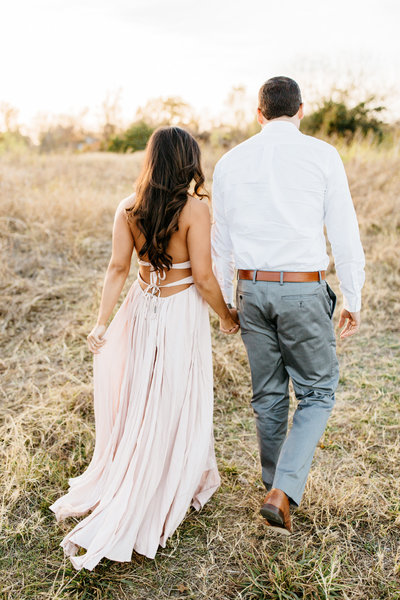 Dallas Engagement Photographer - Alexa Vossler Photo - Fall Engagement Shoot at White Rock Lake with Kaila & Gabe-12