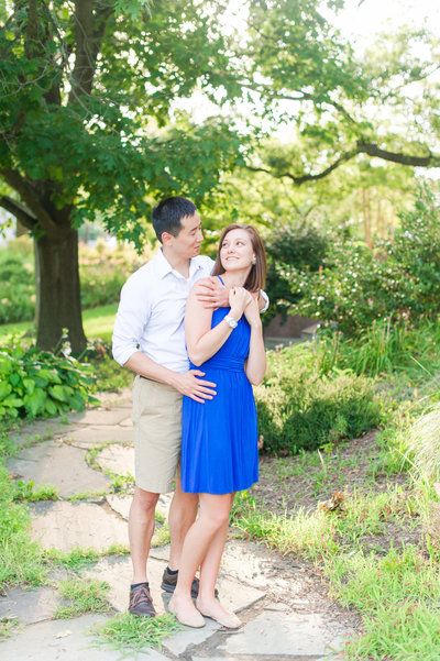 University of Maryland engagement session inspiration