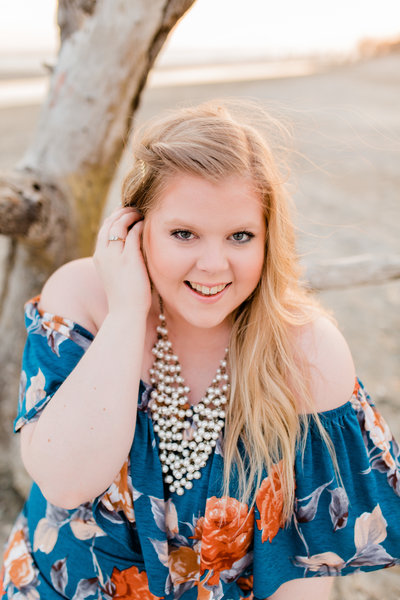 Folly Beach Portrait Session - Charleston Photographer - BraskaJennea Photography-25