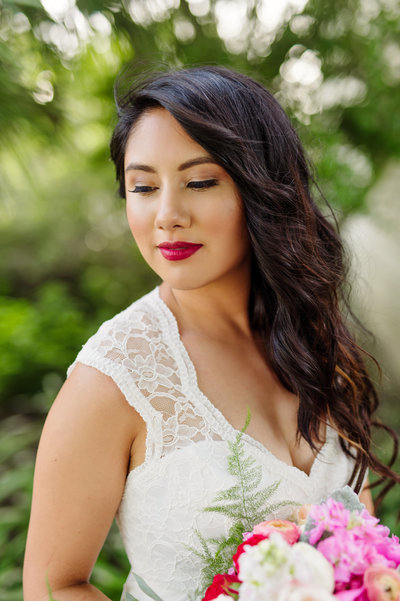 Outdoor Bridal photography by Celina Gomez