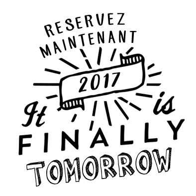 réservation 2017