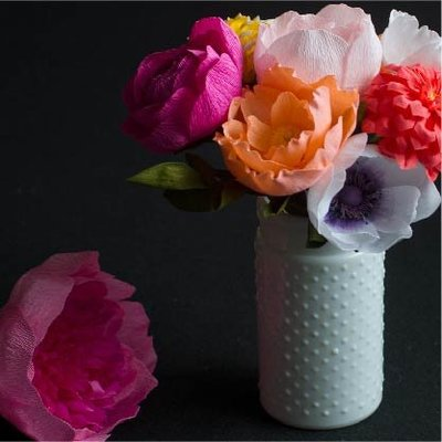 Seattle Paper Flower Design