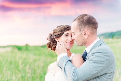 destination wedding photographer sin northern michigan for beach weddings