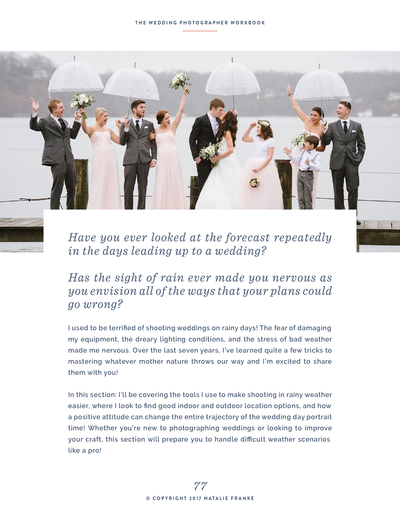 Wedding-Rainy