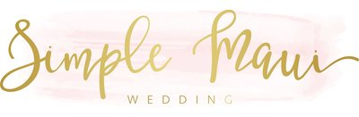 Simple Maui Wedding main_logo
