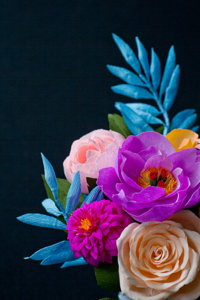 Paper Floral Arrangement Design