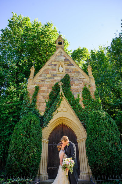 St. Catherine's at Bell Gable Fayetteville Outdoor Wedding
