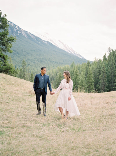 Banff Mountain Engagement - Esther Funk Photography-7