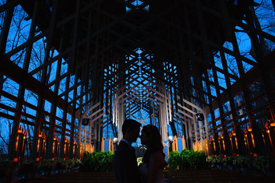 Thorncrown Chapel Eureka Springs Wedding