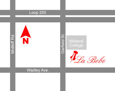 2200 W. Wadley #14 Midland, Texas 79705. Tel: 432.687.2800. Store Hours: Monday - Saturday 10am to 5:30pm