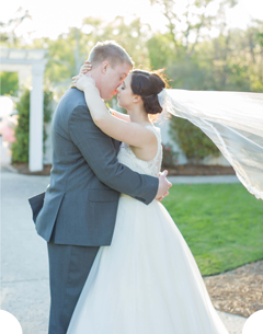 Springdale House and Gardens wedding portrait