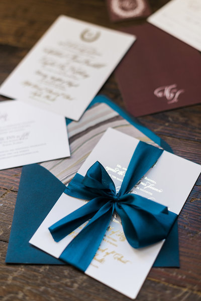 Traditional monogram and calligraphy Collection wedding invitation suites  customized to fit your wedding vision.