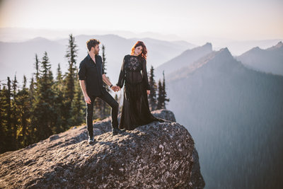 Adventure Elopement Photographer based in Anchorage, Alaska