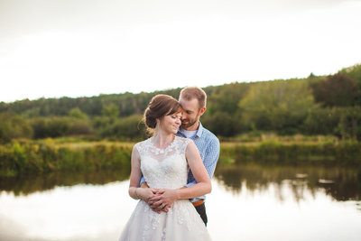 Karina and Jeff's Barn Wedding Blog