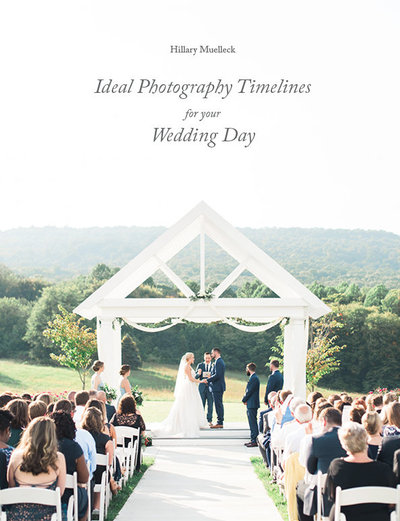COVER-Ideal Photography Timelines for your Wedding Day