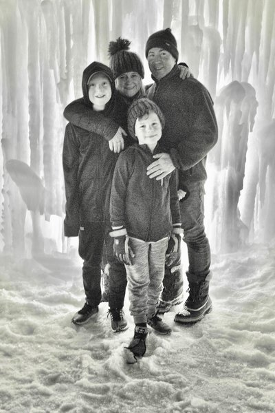 ice castle family