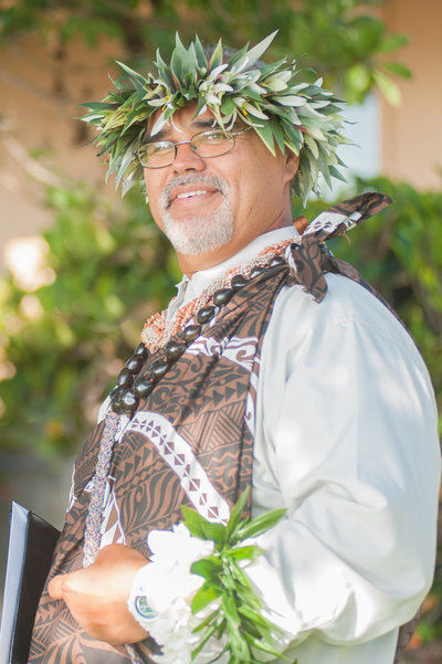 Maui Wedding Minister Earnest Puaa