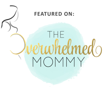 Featured on The Overwhelmed Mommy