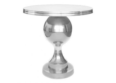 Lola Silver Cocktail Table