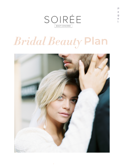 The Bridal Beauty Plan