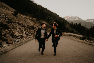 PNW Seattle Same Sex Wedding Elopement Planner