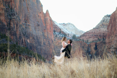 1.5.20 Zion National Park Elopement Photography by Terri Attridge-36