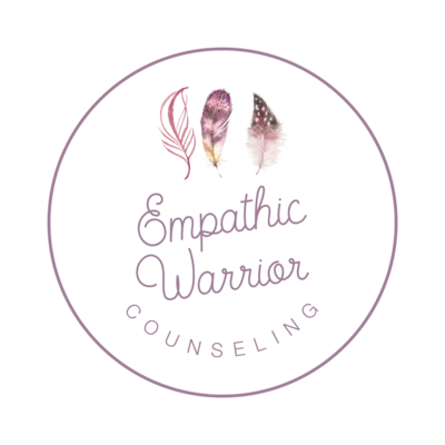 Empathic Warrior_Logo Mark Purple