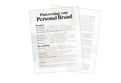 Pinteresting Your Personal Brand Checklist Image-04